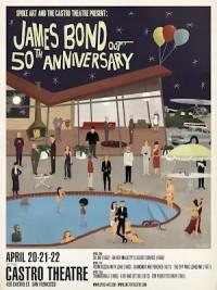 Super Punch: James Bond posters by Max Dalton for Spoke Art