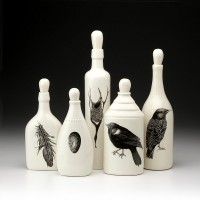 Set of 5 Bottles: Black Bird - Black Birds - Collections