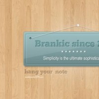 Hanging note/banner « Brankic1979 – premium web templates and wordpress themes