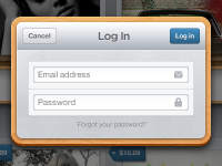 Login Modal by Chris Brauckmuller