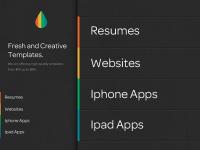 Homepage Design (one night project) by Justalab (via Julien Renvoye)