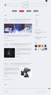 Minima Creative Portfolio PSD
