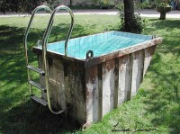 No Diving: Dumpster Pools   Incredible Things
