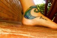 tattoos / wave
