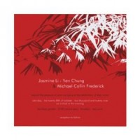 Bamboo Leaves Double Xi Red Wedding Invitation >> Wedding Invitations