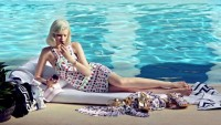 Versace for H&M Resort 2012 Campaign featuring Abbey Lee Kershaw and River Viiperi - My Face Hunter