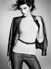 Smartologie: Mango 'Simplicity' Fall/Winter 2011 Campaign - Isabeli Fontana