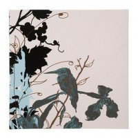 "Kingfisher Canvas Wall Art - 24x24"" : Target"