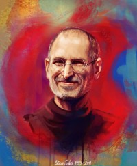 Steve Jobs by *blueabyss17404