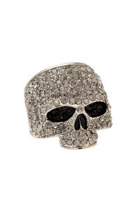 JackThreads - Skull Ring Silver