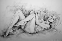 SketchBook Page 9 - Figure Drawing by Dimitar Hristov - 54ka
