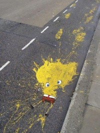 SpongeBob On The Streets | Wooster Collective