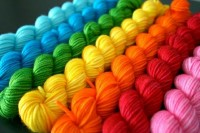 Rainbows / Yarn rainbow