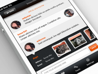 iPhone App - Chat by Anke Mackenthun