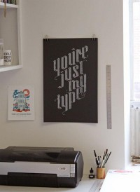FPO: Just My Type Poster