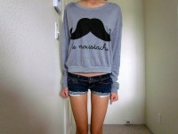 Fancy - Le Moustache Top