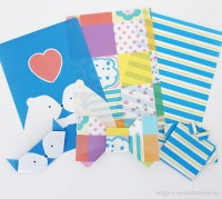 origami letter paper (set of 15 sheets) - shop - upon a fold
