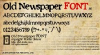 Top 10 Newspaper Headline Fonts | webexpedition18