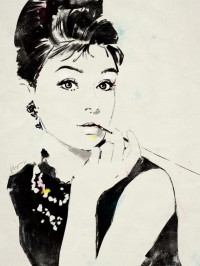 Audrey Hepburn by ~grey90