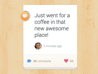 Comment Widget by Ionut Zamfir