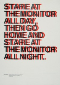 "Image Spark - Image tagged ""poster helvetica"", ""poster"", ""typography"" - envyro"