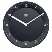 Braun BNC006 Black Quartz Wall Clock: Watches on Listly