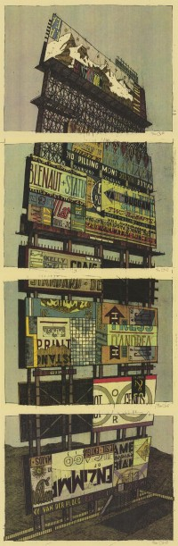 "Gig Posters Vol. 2 ""Pre-Order Incentive"" mini-prints - Landland"