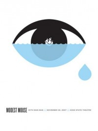 Modest Mouse Kalamazoo Concert Poster by The Small Stakes (SOLD OUT) - Sold Out - Gallery