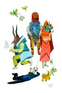 Colorful illustrations by Stacey Rozuch — Lost At E Minor: For creative people