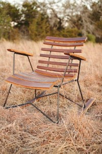 Cask Rocker handcrafted rocking chair rustic by petrifieddesign