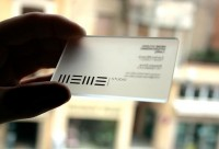 25 Clear Plastic Business Cards Design   The Design Work