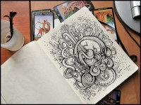 Amazing Sketch Book Drawings | Abduzeedo | Graphic Design Inspiration and Photoshop Tutorials