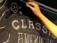 Dana Tanamachi | Custom Chalk Lettering - Journal - tommy harajuku