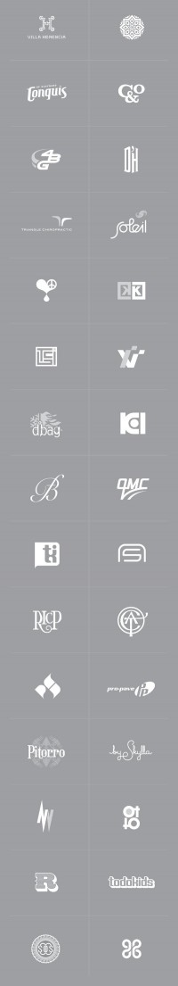 logos, symbols, marks... on Branding Served