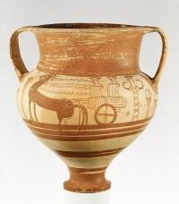 The Metropolitan Museum of Art - Terracotta chariot krater