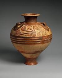 The Metropolitan Museum of Art - Terracotta jar with nautiluses