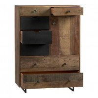 Atwood Tall Chest in Nightstands | Crate and Barrel