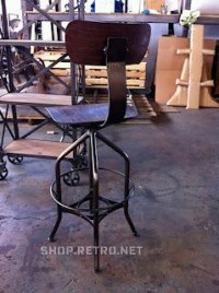 Vintage Industrial Inspired Furniture Seating