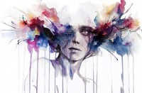 l'assenza Art Print by Agnes-cecile | Society6