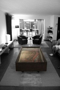 A Crashed Ferrari Coffee Table by Molinelli Charly | Design.org