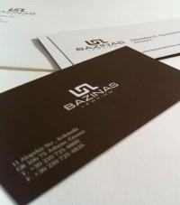 Bazinas Law Firm - Business Cards - Creattica