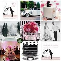 Things Festive Wedding Blog: Vintage Hollywood Wedding Theme - For Old School Romantics