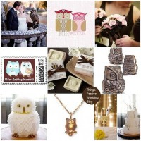 Things Festive Wedding Blog: Bird Wedding Theme - Owl Always Love You