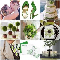 Things Festive Wedding Blog: Colorful Bridal Earrings Enhance a Color Scheme
