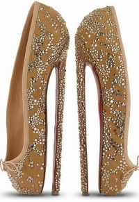 Dance / Christian Louboutin Ballerina Pumps