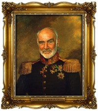 Celebrities Digitally Painted As Russian Generals   inspirationfeed.com