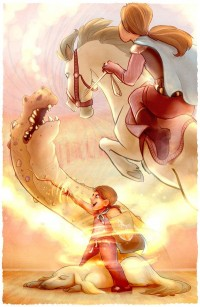 The Bravest and Fairest in the Land by ~white-rapidash