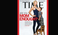 Time releases provocative cover on breast-feeding | Firstpost