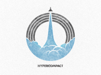 Logo/Emblem/Mark for Hypercompact by Morgan Allan Knutson