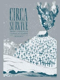 GigPosters.com - Circa Survive - Dredg - Codeseven - Animals As Leaders
